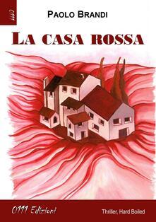 La casa rossa - Paolo Brandi - copertina