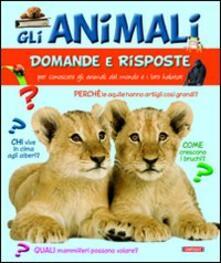 Adiaphora.it Gli animali. Domande e risposte Image