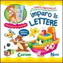Parcoarenas.it Imparo le lettere. Ediz. illustrata Image