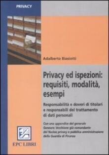 Grandtoureventi.it Privacy ed ispezioni: requisiti, modalità, esempi. Responsabilità e doveri di titolari e responsabili del trattamento di dati personali Image