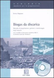 Ristorantezintonio.it Biogas da discarica. Manuale di progettazione, gestione, e monitoraggio degli impianti Image