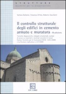 Il controllo strutturale degli edifici in cemento armato e muratura