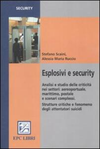 Esplosivi e security