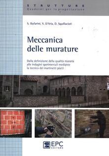Milanospringparade.it Meccanica delle murature. Dalla definizione della qualità muraria alle indagini sperimentali mediante la tecnica dei martinetti piatti Image
