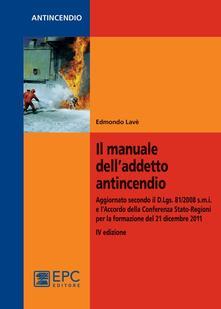 Antondemarirreguera.es Il manuale dell'addetto antincendio Image