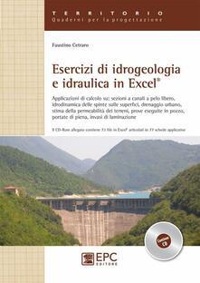 Mercatinidinataletorino.it Esercizi di idrogeologia e idraulica in Excel Image