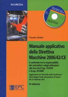 Manuale applicativo della direttiva macchine 2006/42/CE. Con CD-ROM.pdf