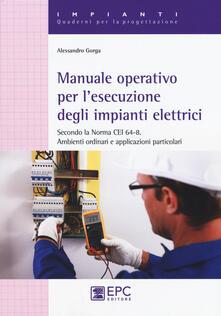 Ipabsantonioabatetrino.it Manuale operativo per l'esecuzione degli impianti elettrici Image