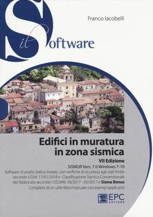 Winniearcher.com Edifici in muratura in zona sismica. SISMUR Vers. 7.0. Con CD-ROM Image