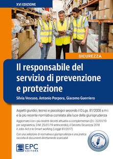 Amatigota.it Il responsabile del servizio di prevenzione e protezione. Con Contenuto digitale per download Image