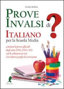 Grandtoureventi.it Prove INVALSI di italiano. Per la Scuola media Image