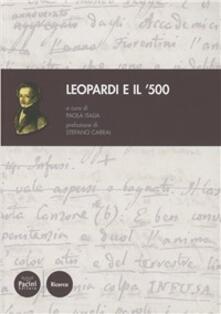 Leopardi e il '500 - copertina