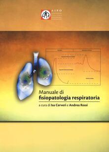 Steamcon.it Manuale di fisiopatologia respiratoria Image