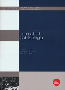Fondazionesergioperlamusica.it Manuale di suicidologia Image
