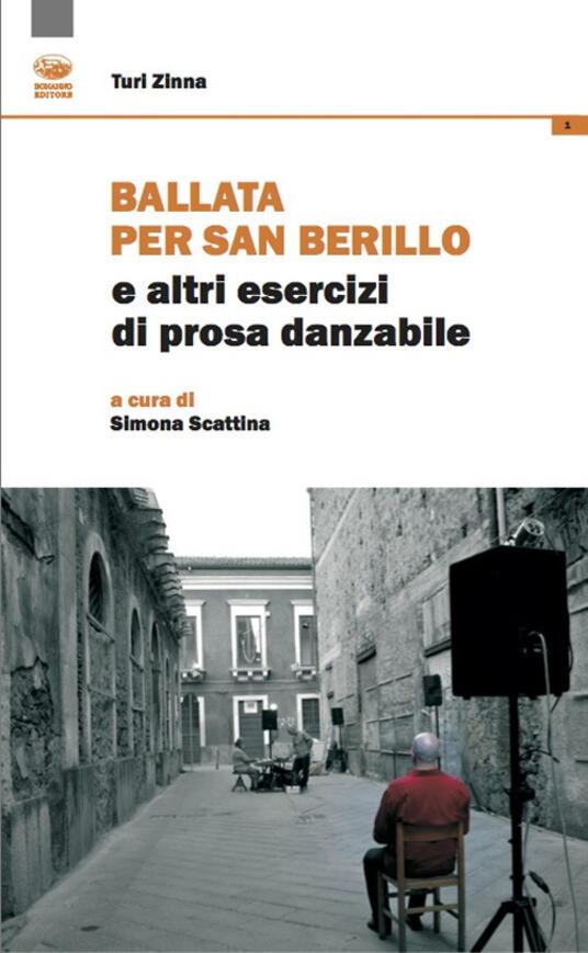 Ballata per san Berillo e altri esercizi di prosa dannabile - Turi Zinna - copertina