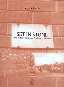Set in stone. 19th century american authors in Florence