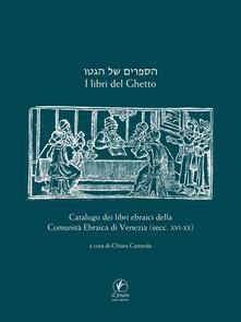 Radiospeed.it I libri del ghetto. Catalogo dei libri ebraici della Comunità Ebraica di Venezia (secc. XVII-XX) Image