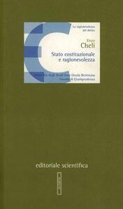 Stato costituzionale e ragionevolezza