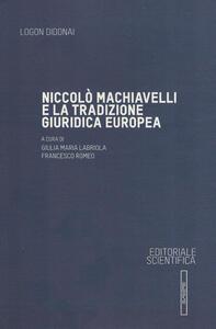 Niccolò Machiavelli e la tradizione giuridica europea