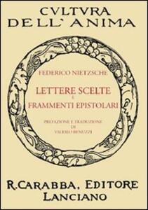 Lettere scelte e frammenti epistolari