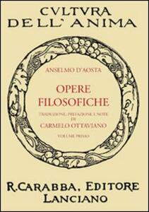 Opere filosofiche. Vol. 1