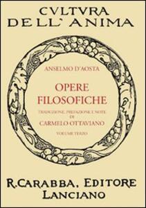 Opere filosofiche. Vol. 3