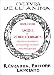 Pagine di morale ebraica - Pirqê Abôth - copertina