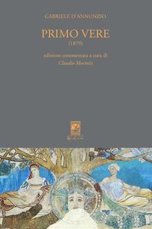 Rallydeicolliscaligeri.it Primo vere (1879). Ediz. commentata Image