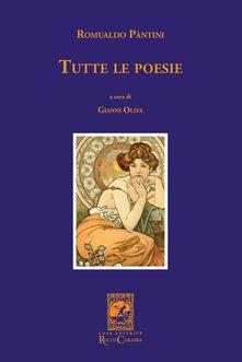 Tutte le poesie - Romualdo Pàntini - copertina