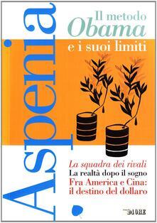 Tegliowinterrun.it Aspenia. Vol. 47: Il metodo Obama e i suoi limiti. Image