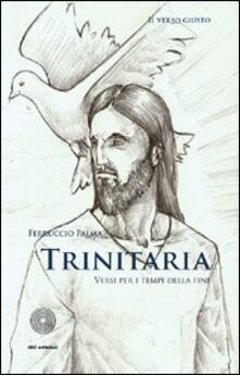 Trinitaria. Versi per i tempi della fine - Ferruccio Palma - copertina