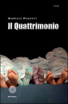 Il quattrimonio - Gabriele Piacente - copertina