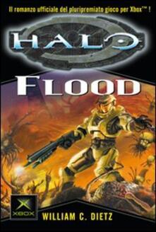 Halo. Flood - William C. Dietz - copertina