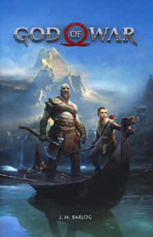 God of war - J. M. Barlog - copertina