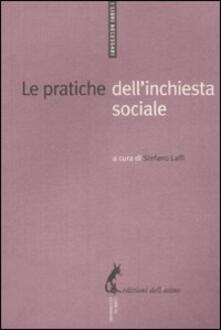 Le pratiche dell'inchiesta sociale - copertina