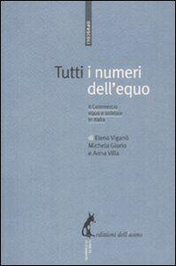 Tutti i numeri dell'equo. Il commercio equo e solidale in Italia