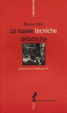 Le nuove tecniche didattiche - Bruno Ciari - copertina