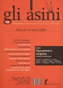 Gli asini. Educazione e intervento sociale (2013). Vol. 14: Lottare per un nuovo welfare.
