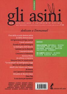 Gli asini. Educazione e intervento sociale vol. 33-34 - copertina