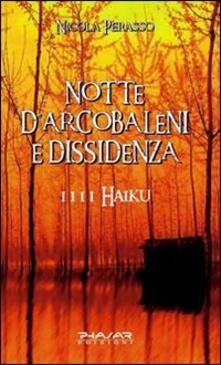 Notte d'arcobaleni e dissidenza. 1111 haiku - Nicola Perasso - copertina