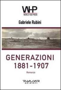 Generazioni 1881-1907