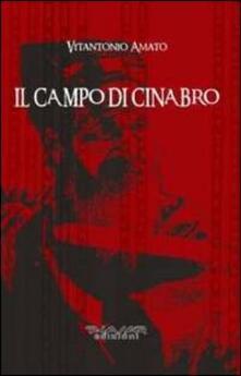 Il campo di cinabro - Vitantonio Amato - copertina