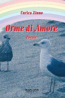 Orme di Amore - Enrica Zinno - copertina