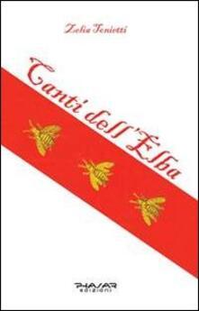 Canti dell'Elba - Zelia Tonietti - copertina