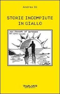 Storie incompiute in giallo