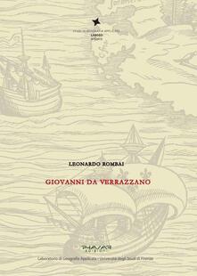 Giovanni da Verrazzano - Leonardo Rombai - copertina