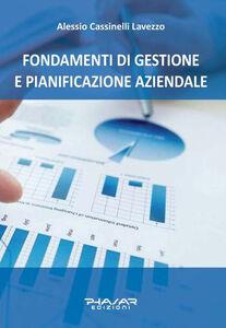 Fondamenti di gestione e pianificazione aziendale