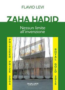 Zaha Hadid. Nessun limite all'invenzione - Flavio Levi - copertina