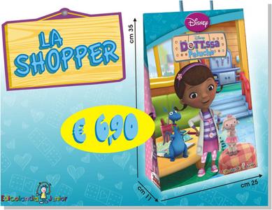 Giocattolo Dottoressa Peluche. Shopper Disney 0