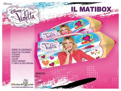 Cartoleria Violetta. Matibox Edicolandia Junior